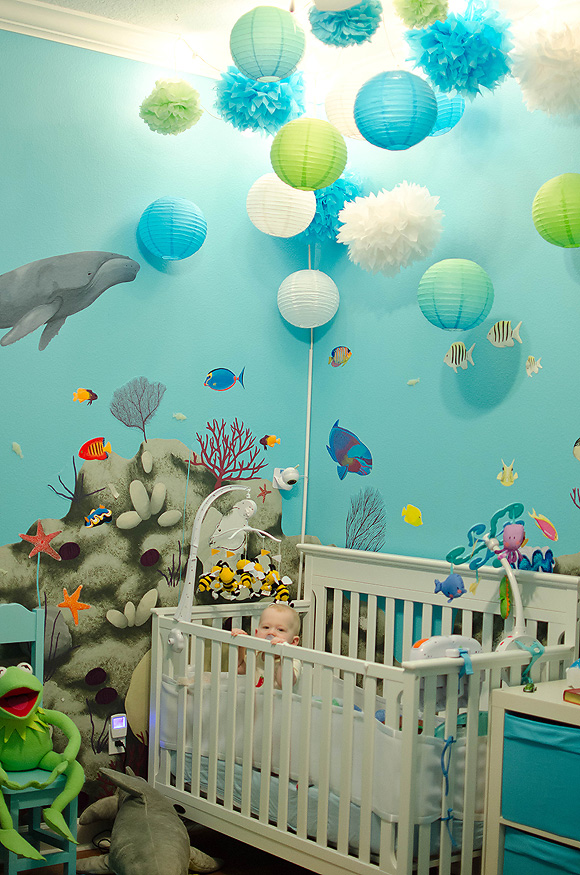 Underwater Nursery Theme Thenurseries